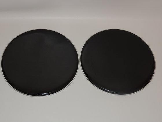 "10"" Black Tom Heads"