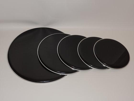 Drum Set Rock Head Pack in Black (22,16,14,13,12)