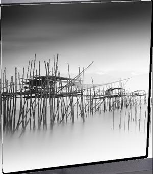 UNI4255 FOTOPANEL ALUMINIO 6x6 SILVER