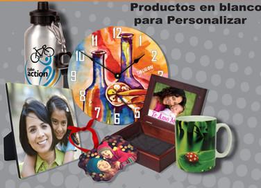 PRODUCTOS EN BLANCO