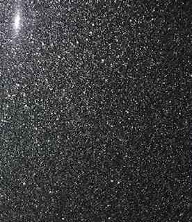 """VINIL TERMICO SPARKLE BLACK 15"""" SISER por YARDA"""
