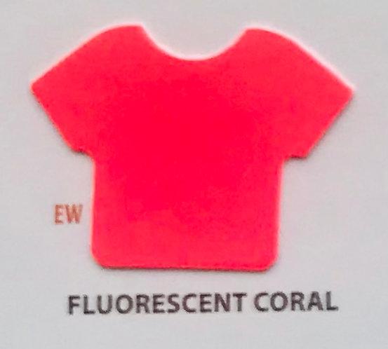 "EASYWEED FLUO CORAL VINIL TERMICO 15"""