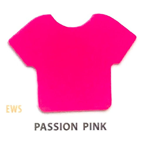 """EASYWEED PASSION PINK VINIL TERMICO 15"""""""