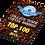 Thumbnail: UNI5813 PREMIACION RECTANGULATR (NO INCLUYE BASE)