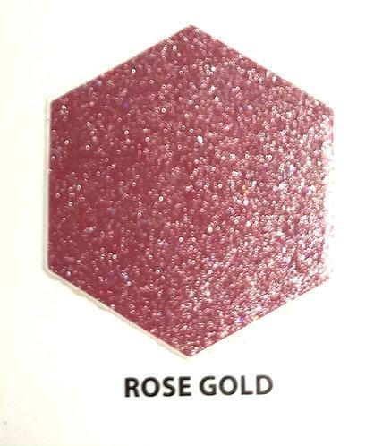 "VINIL ADHESIVO  GLITTER ROSE GOLD 12"" EasyPSV SISER por YARDA"