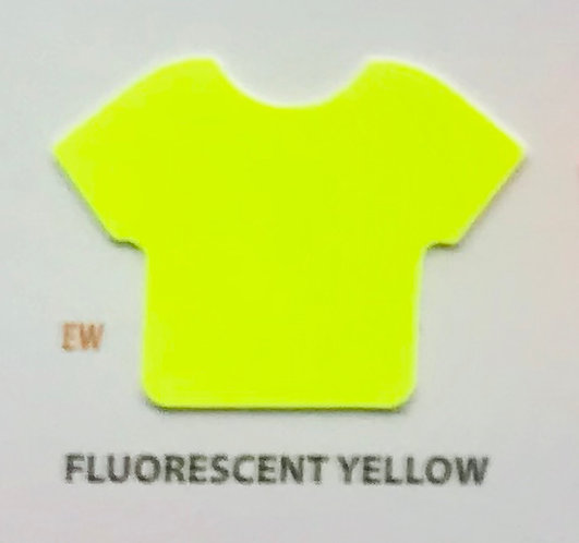 """EASYWEED FLUO YELLOW VINIL TERMICO 15"""""""