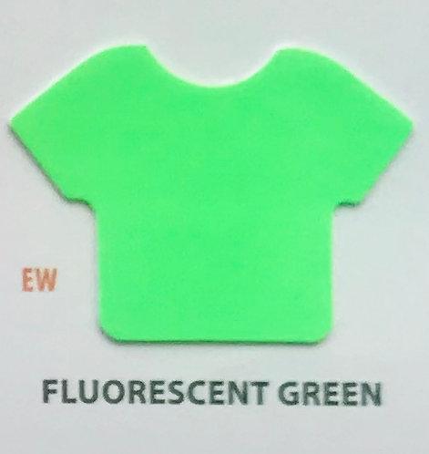 "EASYWEED FLUO GREEN VINIL TERMICO 15"""