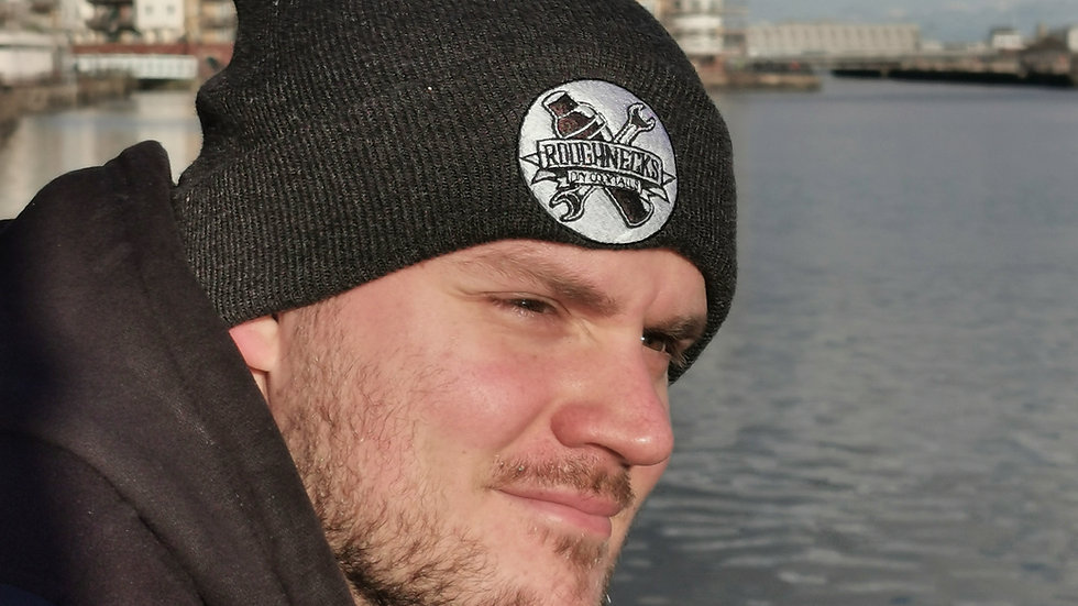 Roughnecks Beanie Hat Charcoal Grey