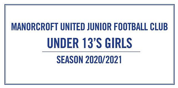Under 13 Girls Plaque.JPG