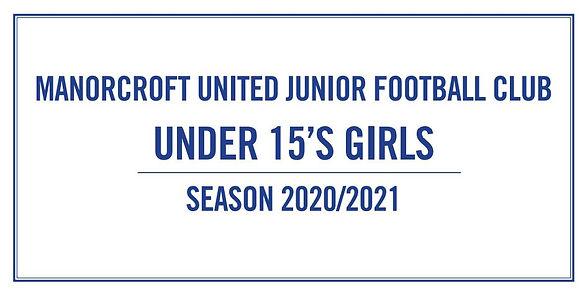 Under 15's Girls Plaque.JPG