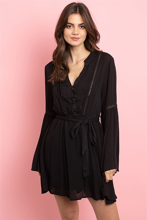 43004 BLACK DRESS