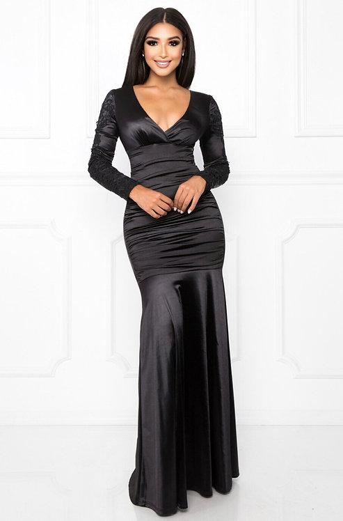 61094 BLACK DRESS
