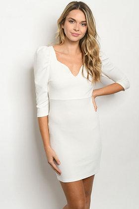 98003 WHITE DRESS