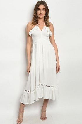9249 OFF WHITE DRESS