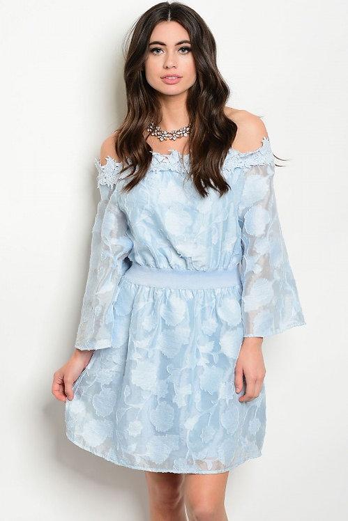 71630 BLUE DRESS