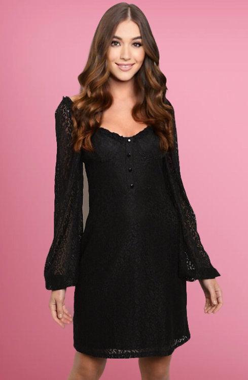 25778 BLACK DRESS