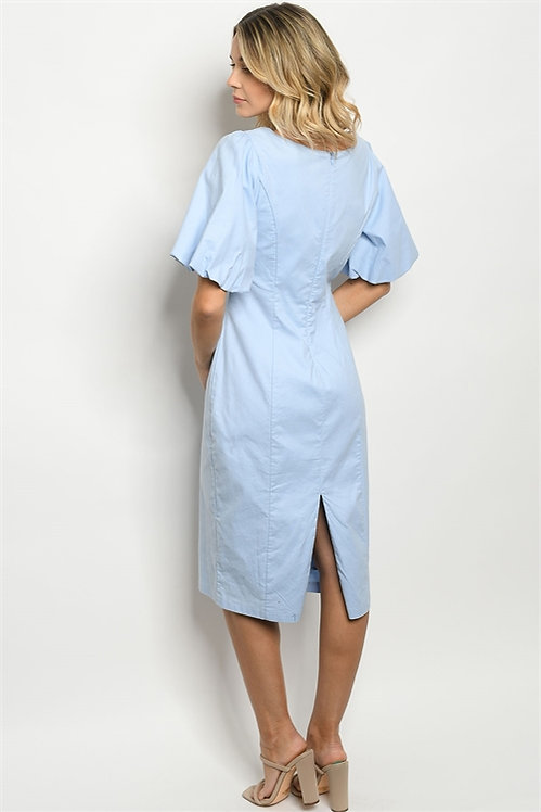 75124 BLUE DRESS