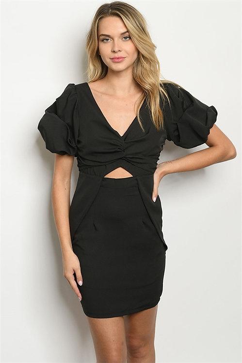 1250792 BLACK DRESS