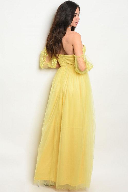 2000 YELLOW DRESS
