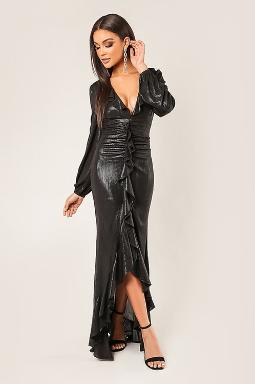 7324 BLACK DRESS