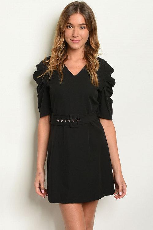 1250779 BLACK DRESS