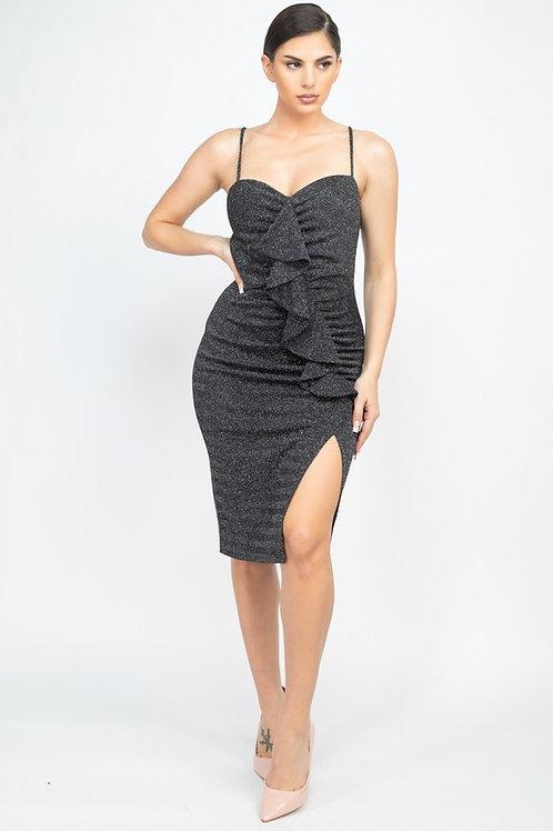 13070 front ruffle dress