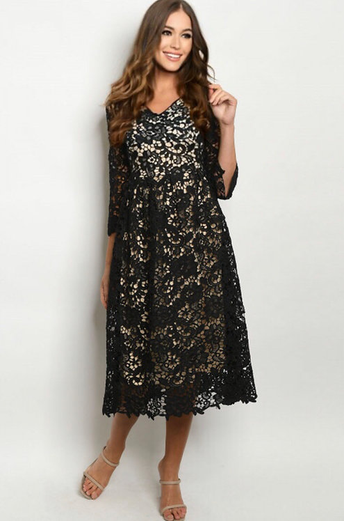 107 BLACK DRESS