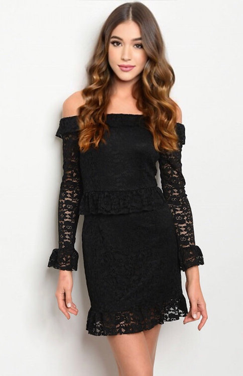 10623 BLACK DRESS