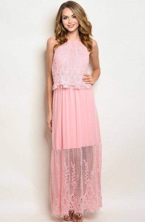 15098 PINK DRESS