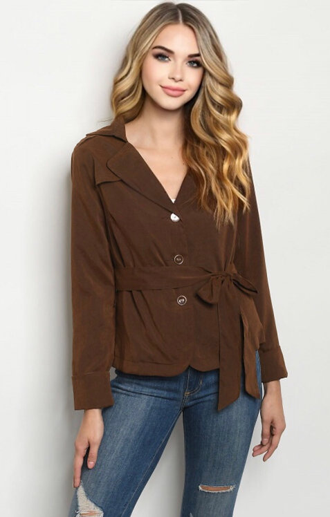 772 BROWN JACKET