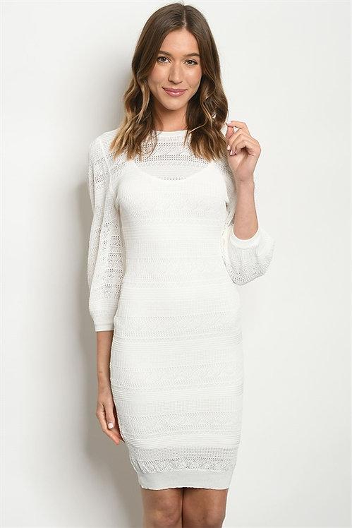 5117 WHITE DRESS