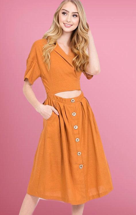 42904 Cut Out Dress