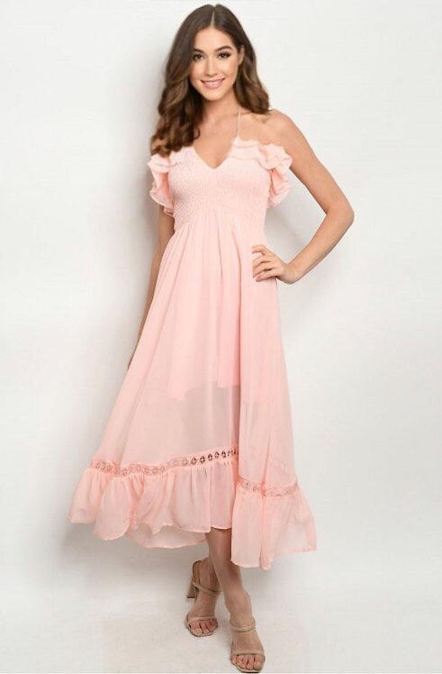9249 PINK DRESS
