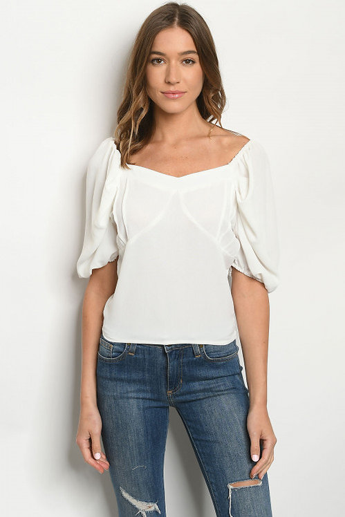333 OFF WHITE TOP