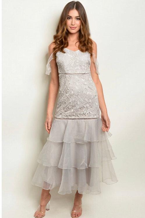 2519 SILVER DRESS