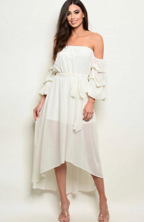 8905 IVORY DRESS