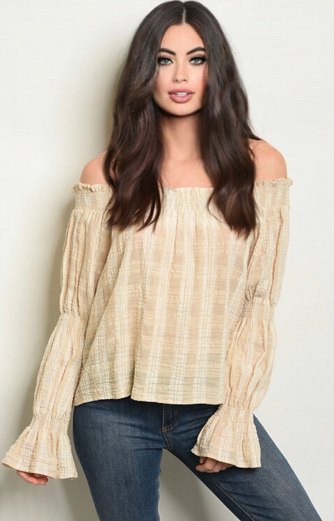 24465 TAUPE TOP