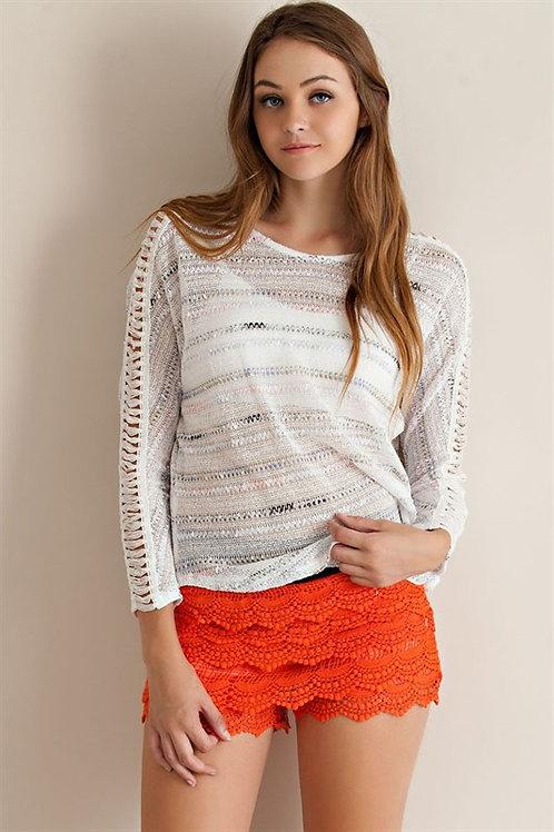 8D222 Lace Short