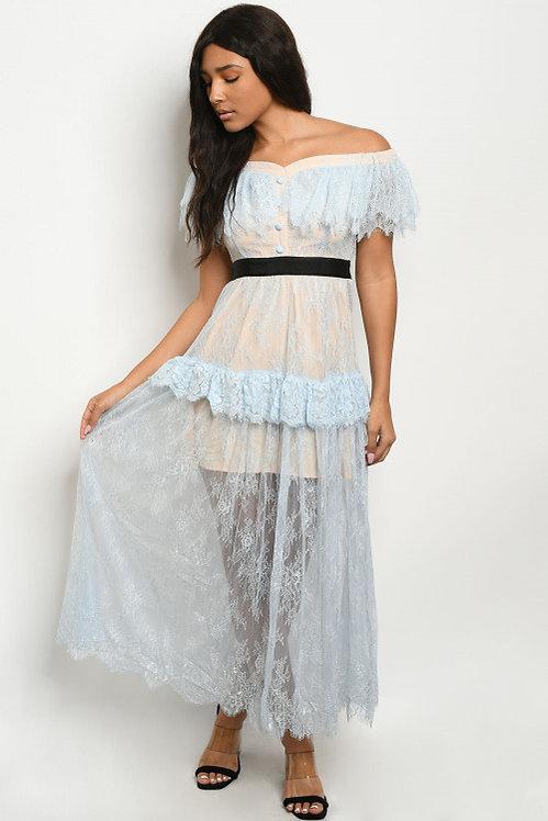 73095 BLUE DRESS