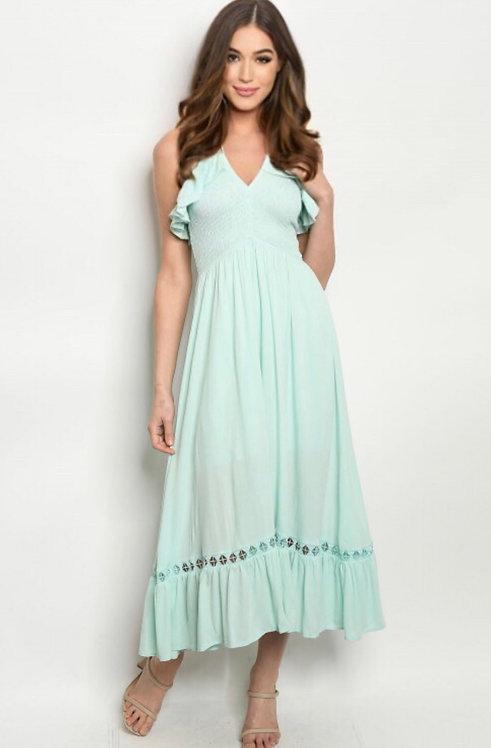 9249 AQUA DRESS