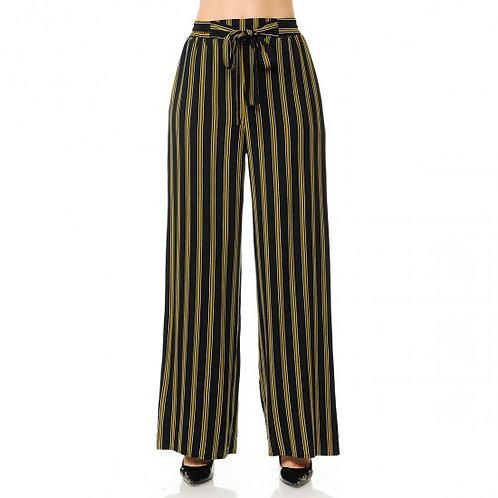 71121-1 Stripe Paper Bag Pants