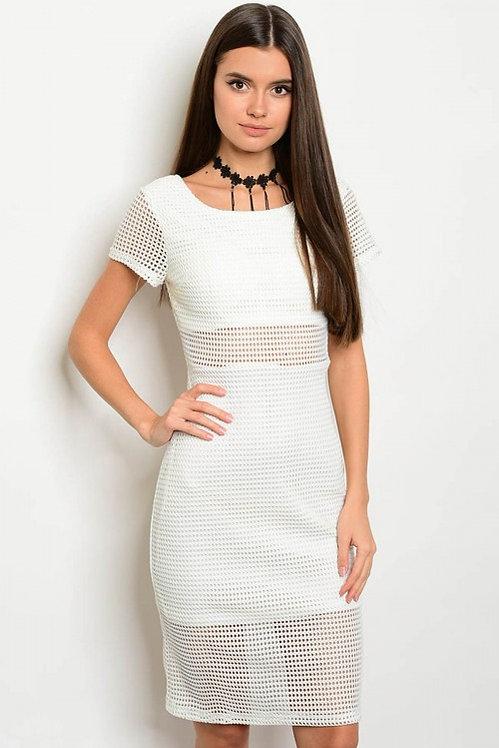 16398 OFF WHITE DRESS
