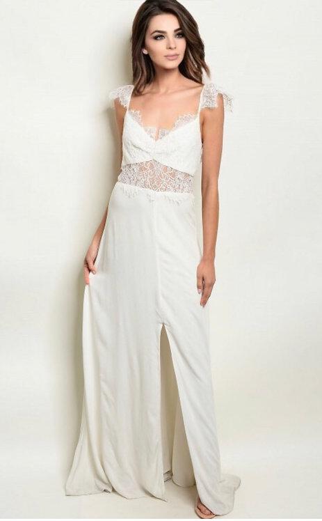 4962 OFF WHITE DRESS