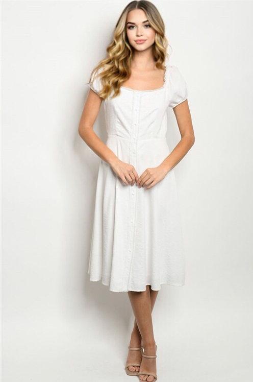74517 WHITE DRESS