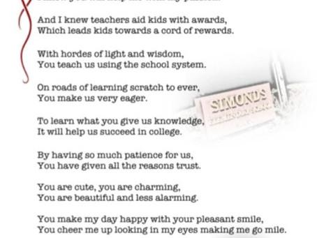 My Adorable Teacher