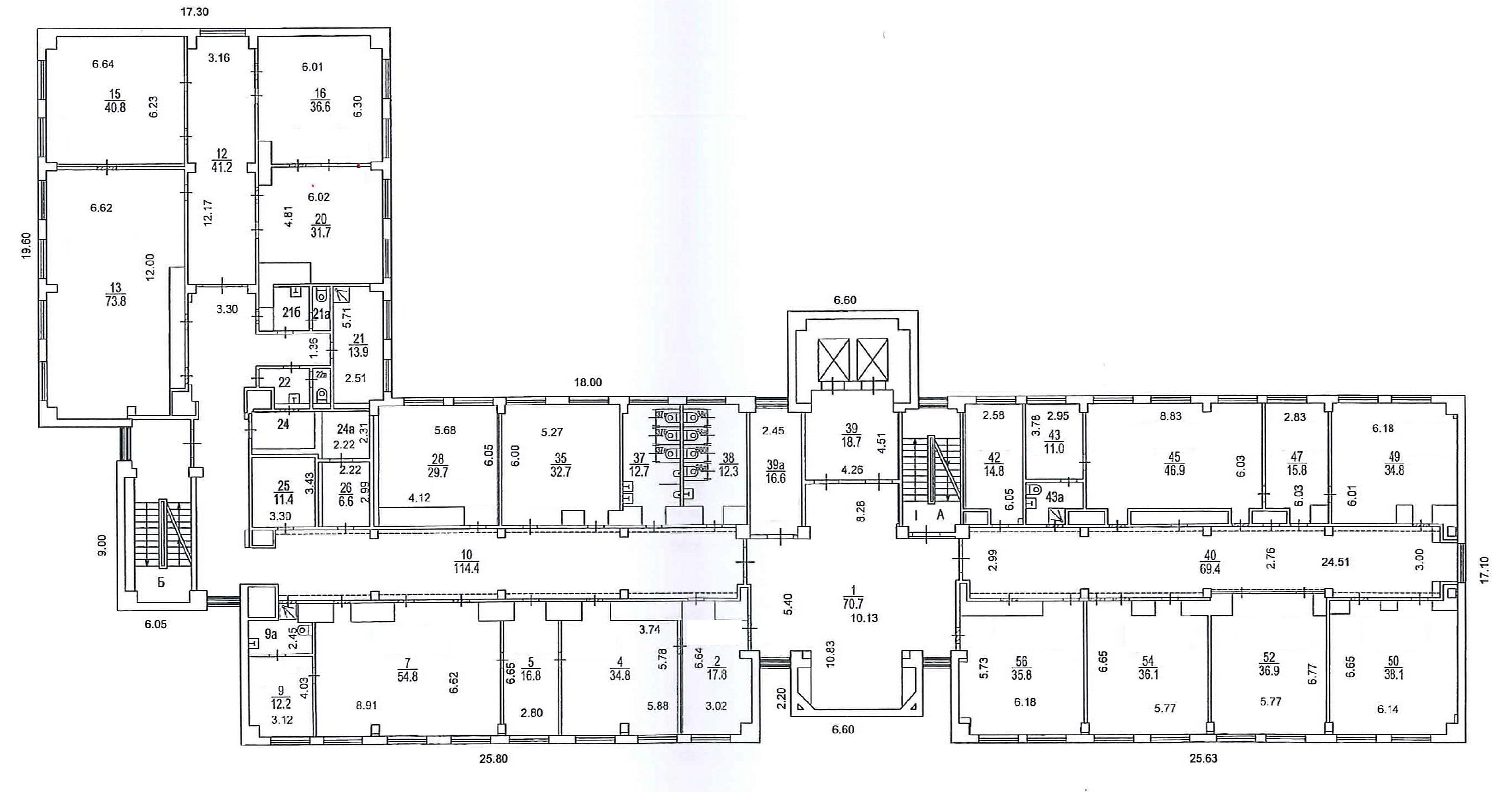 4й этаж