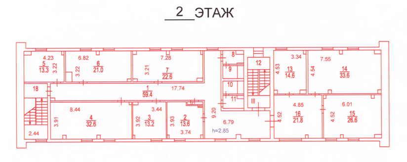 2й этаж