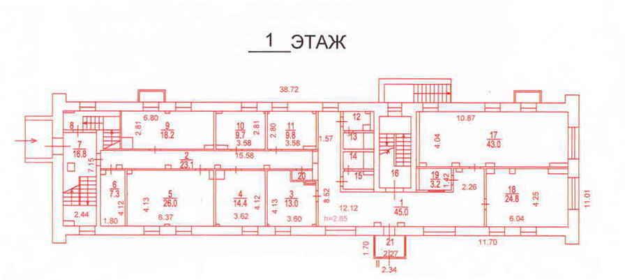 1й этаж