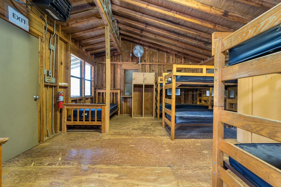 Basecamp Cabin Inside
