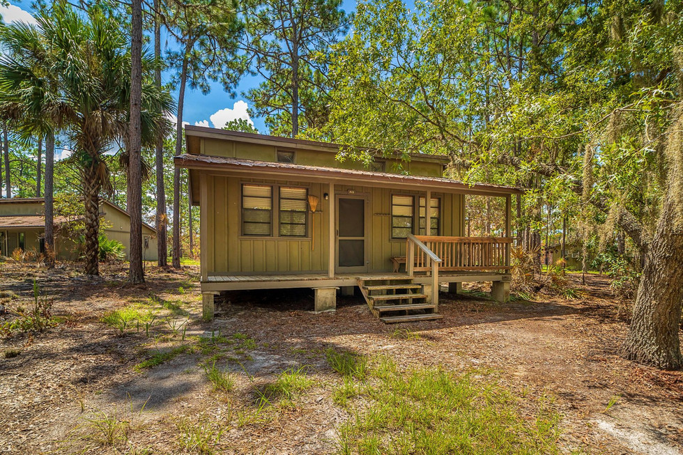 Trailblazer Cabin Outside